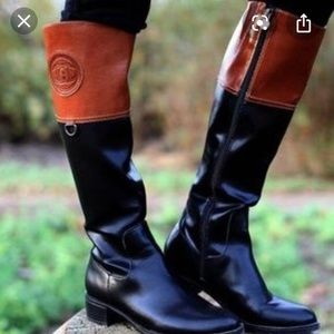 Etienne Aigner Chastity Riding Boots